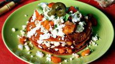 This recipe is for enchiladas mineras, a classic dish from the state of Guanajuato, in Mexico, known for its silver mines. It's believed that the miners' wives would make these enchiladas and bring them to the mines for the men to eat.  Traditionally, enchiladas mineras are stuffed only with cheese and onions, and they are topped with carrots and potatoes. However, the potato and carrot stew is so delicious that it should be included in every layer of the enchiladas. Make these enchiladas…