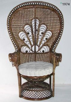 Since 1974, Emmanuelle armchair.