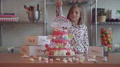 Hoe versier je zelf de mooiste dripcakes? Bekijk het filmpje! Jaba, Desserts, Food, Seeds, Tailgate Desserts, Deserts, Essen, Postres, Meals