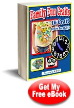 Family Fun Crafts: 16 #Craft Ideas for Kids eBook download for free!