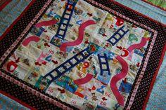 gameboard quilt | Alpine Quilt Retreats: Game Board Quilt