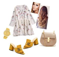 A fashion look from August 2017 featuring long sleeve embroidered dress, block heel mules and shoulder handbags. Browse and shop related looks. Charlotte Tilbury, Gucci, Shoe Bag, Flowers, Polyvore, Stuff To Buy, Shopping, Shoes, Collection