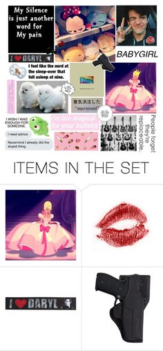 """~ Just A Random Set About Me ~"" by lildinokitten ❤ liked on Polyvore featuring art"