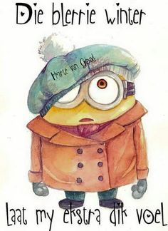 Winter Minion by on DeviantArt 📝