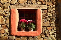 Window and flower pots by Francesca Murroni Ph on 500px
