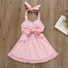 Tie-Back Striped Halter Dress Tie-Back Striped Halter Dress The post Tie-Back Striped Halter Dress appeared first on Toddlers Ideas. Girls Frock Design, Baby Dress Design, Baby Girl Dress Patterns, Baby Frocks Designs, Kids Frocks Design, Frocks For Girls, Little Girl Dresses, Toddler Outfits, Kids Outfits