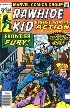 Rawhide Kid #144 cover by Gil Kane