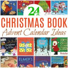 Advent calendar activities for kids, ideas including Christmas stories, films and crafts for kids. Its Christmas Eve, Christmas Books, A Christmas Story, All Things Christmas, Christmas Themes, Christmas Crafts, Advent Calendar Activities, Diy Advent Calendar, Calendar Ideas