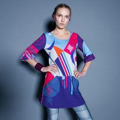 TUNIKA OLIMPIC - kolorowe, designerskie