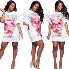 Cool Great New Women Print Bandage Bodycon Dress Club Party Cocktail Plus Size Mini Dress 2017 2018 Check more at http://fashion-look.top/gallery/great-new-women-print-bandage-bodycon-dress-club-party-cocktail-plus-size-mini-dress-2017-2018/
