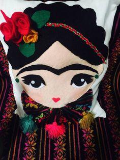 Cojín decorativo decorativo de la almohadilla cojín de Frida