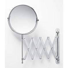 Wilko Shaving Mirror With Extendable Arm 2 Way Chrome Plated Bathroom Mirrorsshaving