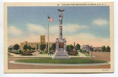 CHELSEA PARK BOULEVARD, ATLANTIC CITY, NJ - unused