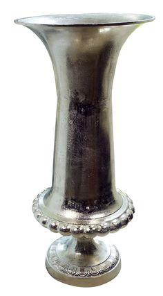 Clayre /& Eef Teelichthalter grün Vintage 7 x 6 cm silberne Kante NEU