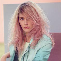 #coiffure #Wella - MARIEKE STONE-WASHED.