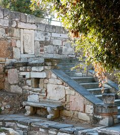 Athens, Greece: near the Byzantine church (XI-XII) at the entrance to the Agora