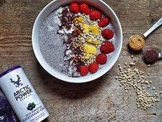 Raw Buckwheat Porridge Recipe Peanut Butter & Arctic Power Berries | Breakfast Criminals
