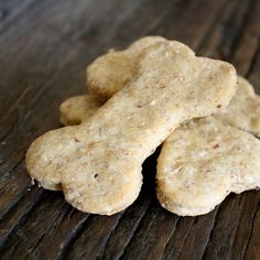 healthy dog biscuits (flaxseed & wheat germ)
