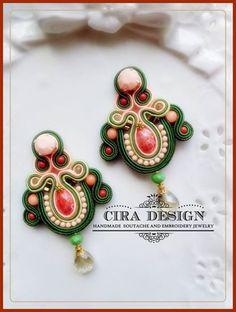 Soutache earrings by Cira Design