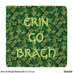 Erin Go Bragh Shamrocks Trivets