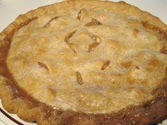 Ma cuisine...sans prétention: Tarte aux pommes et au sucre à la crème