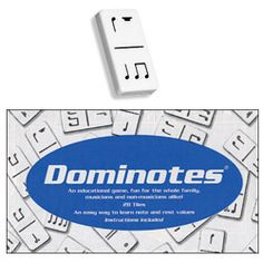 Like Dominos, but for the musically inclined.  =)