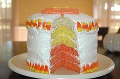 Slaughterhouse Rules: Candy Corn Cake