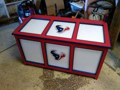 Custom Houston Texans toybox