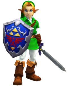 The Legend of Zelda: Ocarina of Time 3D - Link Character Design (Adult)
