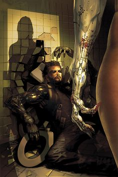 From the Deus Ex: Human Revolution comic book