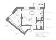 Interior AK,Planta de piso