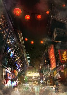 Chinatown by Darkki1