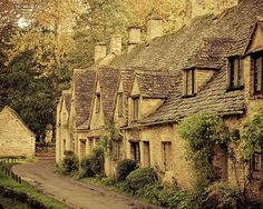 England Photography Cotswold photograph Arlington Way by KeriBevan, $30.00