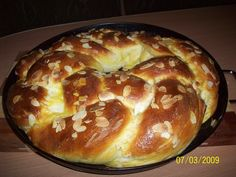 Savarin, Czech Recipes, Home Baking, Easter Recipes, Bread Baking, Bagel, Amazing Cakes, Doughnut, Ham