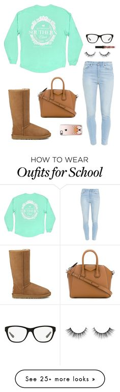 """Check Out My New Icon!"" by bowbeauty01 on Polyvore featuring Paige Denim, Ralph Lauren, UGG, Givenchy, Casetify and bowbeautiful"