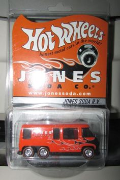 Hot Wheels RLC 2003 Special Edition Jones Soda GMC Motorhome Real Riders
