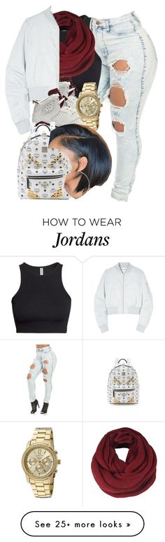 """Codeine crazy."" by jordanv on Polyvore featuring H&M, ONLY, NIKE, Won Hundred, MCM, Invicta, women's clothing, women, female and woman"