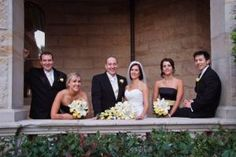 A balcony scene for the bridal party at Curzon Hall