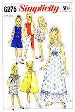 Free Copy of Pattern - Simplicity 6275