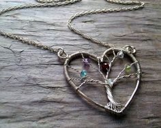 family tree necklace...
