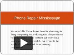 For iPhone Screen Repair, We do use highest quality parts when it comes to repairing your iPhone's, We are qualified, pleasant iphone repair technicians who use genuine parts only,  being an old service provider we are providing most reasonable charges all around Mississauga.http://bit.ly/1Wnk4Kc