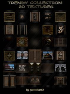TEXTURES IMVU FOR SALE: TRENDY COLLECTION 30 TEXTURES FOR IMVU ROOMS Trendy Collection, Imvu, 30th, Rooms, Club, Texture, Stuff To Buy, Bedrooms, Surface Finish