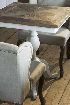 Chateau Belvedère winetable 70 x 70 cm Riviera Maison 131990 | Eettafels / Dining Tables Riviera Maison | Jolijt