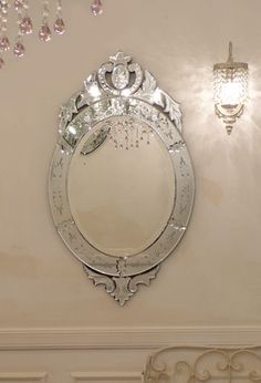 This mirror is in my Powder room...(one of my favorite things in my home)