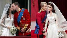 William e Kate come Barbie e Ken con Mattel per il loro primo anniversario