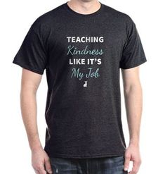 Hot off the (Cafe) Press! New TeachKind t-shirts are now available. #teachkindness #teacher #cafepress
