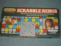 Scrabble Rebus. Brilliant for children as it uses letter & pictures to make the words (like a picture of an eye for the letter i)
