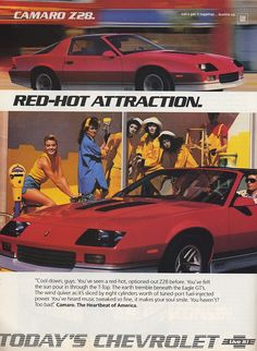 Love the 1st 3rd and 5th gen camaro's. My fav is the 3rd gen iroc's