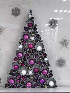 Christmas Projects, Christmas Home, Christmas Holidays, Christmas Crafts, Christmas Ornaments, Purple Christmas, Creation Deco, Theme Noel, Homemade Christmas Gifts