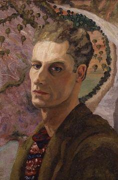 Cedric Morris selfportrait circa 1930